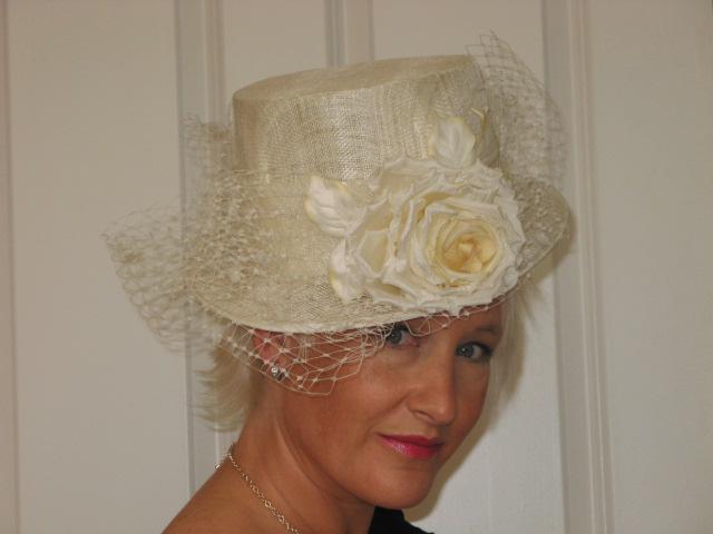 Bridal Ladies Riding Hat